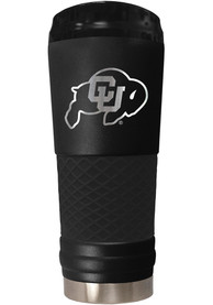 Colorado Buffaloes Stealth 24oz Powder Coated Stainless Steel Tumbler - Black
