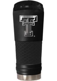 Texas Tech Red Raiders Stealth 24oz Powder Coated Stainless Steel Tumbler - Black