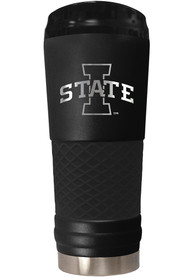 Iowa State Cyclones Stealth 24oz Powder Coated Stainless Steel Tumbler - Black