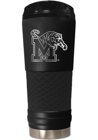 Memphis Tigers Stealth 24oz Powder Coated Stainless Steel Tumbler - Black