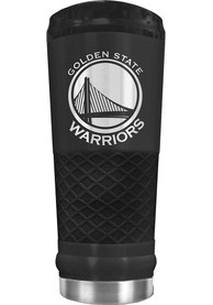 Golden State Warriors Stealth 24oz Powder Coated Stainless Steel Tumbler - Black
