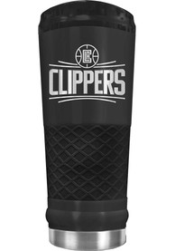 Los Angeles Clippers Stealth 24oz Powder Coated Stainless Steel Tumbler - Black