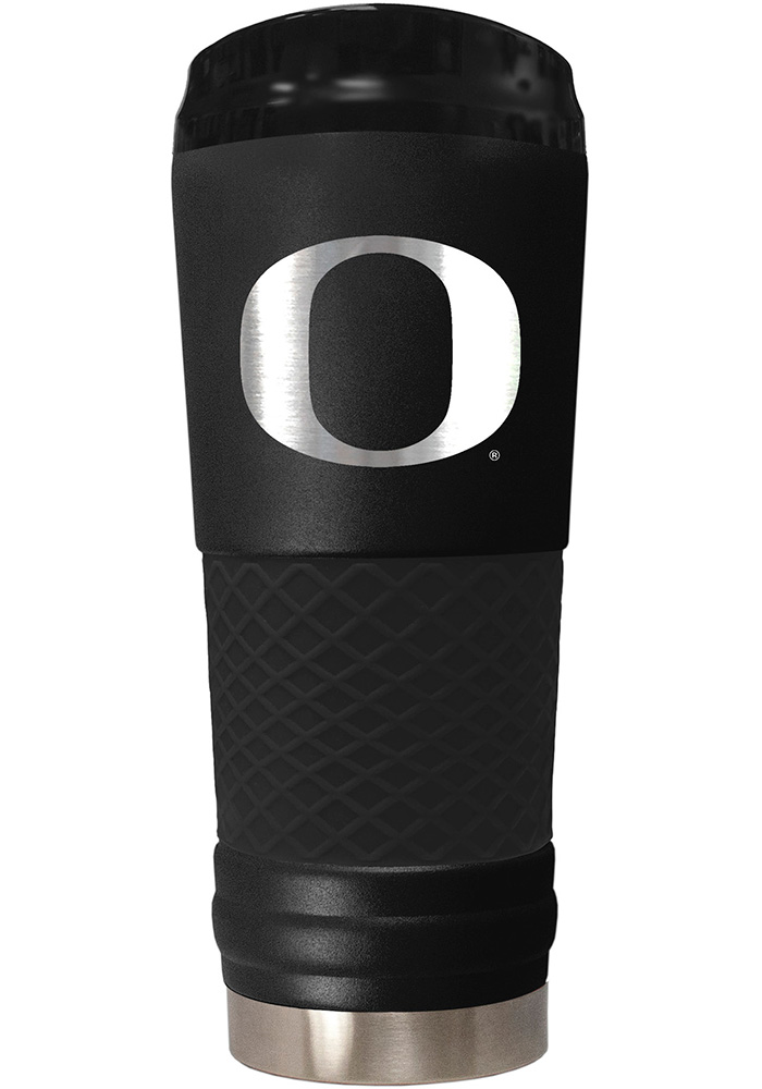 Oregon Ducks Stealth 24oz Powder Coated Stainless Steel Tumbler - Black - Image 1