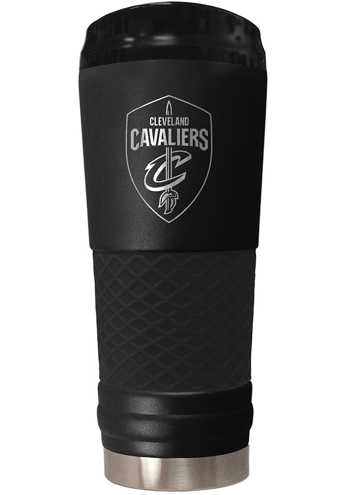 Cleveland Cavaliers Stealth 24oz Powder Coated Stainless Steel Tumbler - Black - Image 1