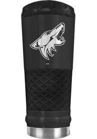 Arizona Coyotes Stealth 24oz Powder Coated Stainless Steel Tumbler - Black