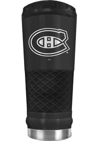 Montreal Canadiens Stealth 24oz Powder Coated Stainless Steel Tumbler - Black