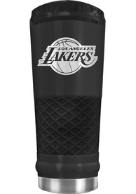 Los Angeles Lakers Stealth 24oz Powder Coated Stainless Steel Tumbler - Black