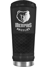 Memphis Grizzlies Stealth 24oz Powder Coated Stainless Steel Tumbler - Black