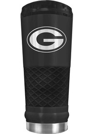 Green Bay Packers Stealth 24oz Powder Coated Stainless Steel Tumbler - Black