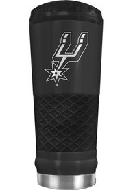 San Antonio Spurs Stealth 24oz Powder Coated Stainless Steel Tumbler - Black