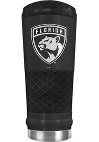 Florida Panthers Stealth 24oz Powder Coated Stainless Steel Tumbler - Black