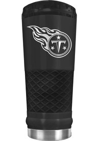 Tennessee Titans Stealth 24oz Powder Coated Stainless Steel Tumbler - Black