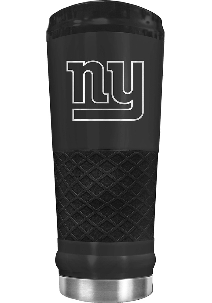 New York Giants Stealth 24oz Powder Coated Stainless Steel Tumbler - Black - Image 1