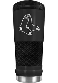 Boston Red Sox Stealth 24oz Powder Coated Stainless Steel Tumbler - Black
