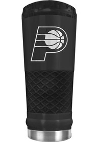 Indiana Pacers Stealth 24oz Powder Coated Stainless Steel Tumbler - Black