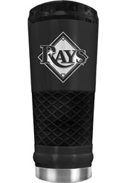 Tampa Bay Rays Stealth 24oz Powder Coated Stainless Steel Tumbler - Black