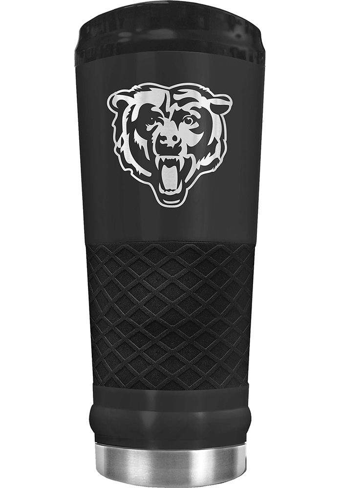 Chicago Bears Stealth 24oz Powder Coated Stainless Steel Tumbler - Black - Image 1