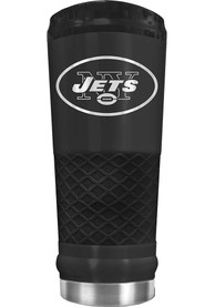 New York Jets Stealth 24oz Powder Coated Stainless Steel Tumbler - Black