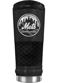 New York Mets Stealth 24oz Powder Coated Stainless Steel Tumbler - Black