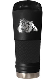 Fresno State Bulldogs Stealth 24oz Powder Coated Stainless Steel Tumbler - Black