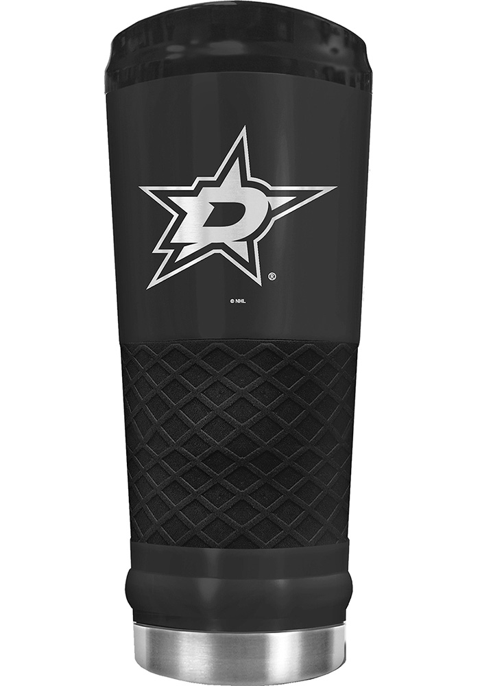 Dallas Stars Stealth 24oz Powder Coated Stainless Steel Tumbler - Black - Image 1