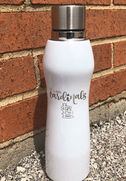 St Louis Cardinals 20oz Opal Curve Stainless Steel Tumbler - White