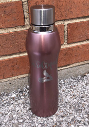 St Louis Cardinals 20oz Rose Gold Curve Stainless Steel Tumbler - Pink