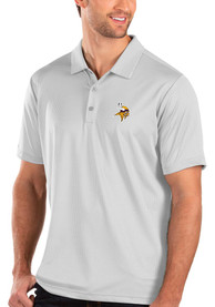 Minnesota Vikings Antigua Balance Polo Shirt - White