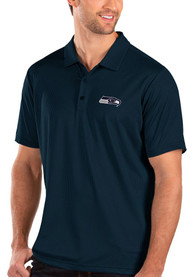 Seattle Seahawks Antigua Balance Polo Shirt - Navy Blue
