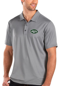 New York Jets Antigua Balance Polo Shirt - Grey