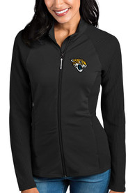 Jacksonville Jaguars Womens Antigua Sonar Light Weight Jacket - Black