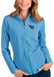 Tennessee Titans Womens Antigua Glacier Light Weight Jacket - Blue