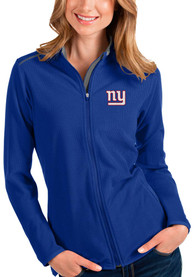 New York Giants Womens Antigua Glacier Light Weight Jacket - Blue