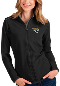 Jacksonville Jaguars Womens Antigua Glacier Light Weight Jacket - Black