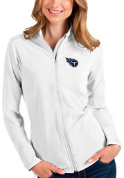 Antigua Tennessee Titans Womens White Glacier Light Weight Jacket