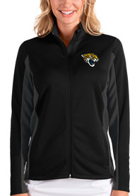 Jacksonville Jaguars Womens Antigua Passage Medium Weight Jacket - Black