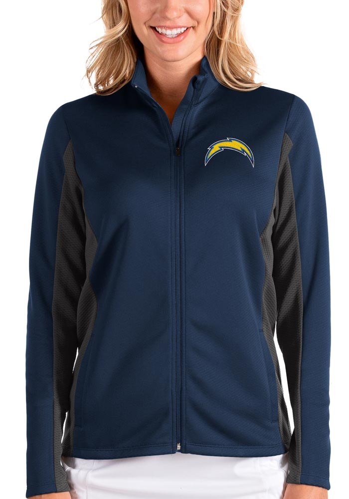 Antigua Los Angeles Chargers Womens Navy Blue Passage Medium Weight Jacket - Image 1