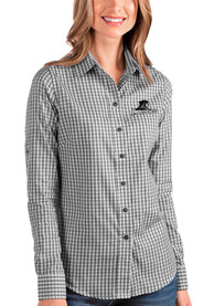 Providence Friars Womens Antigua Structure Dress Shirt - Black
