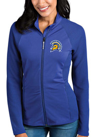 San Jose State Spartans Womens Antigua Sonar Light Weight Jacket - Blue
