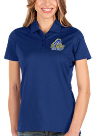 Delaware Fightin' Blue Hens Womens Antigua Balance Polo Shirt - Blue