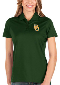 Baylor Bears Womens Antigua Balance Polo Shirt - Green