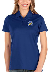 San Jose State Spartans Womens Antigua Balance Polo Shirt - Blue