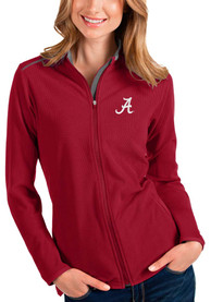 Alabama Crimson Tide Womens Antigua Glacier Light Weight Jacket - Red