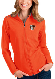 Bowling Green Falcons Womens Antigua Glacier Light Weight Jacket - Orange