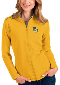 Baylor Bears Womens Antigua Glacier Light Weight Jacket - Gold