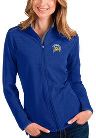 San Jose State Spartans Womens Antigua Glacier Light Weight Jacket - Blue