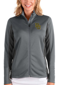 Baylor Bears Womens Antigua Passage Medium Weight Jacket - Grey
