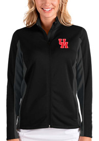 Houston Cougars Womens Antigua Passage Medium Weight Jacket - Black