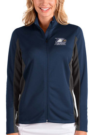 Georgia Southern Eagles Womens Antigua Passage Medium Weight Jacket - Navy Blue