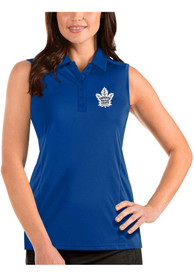 Toronto Maple Leafs Womens Antigua Sleeveless Tribute Tank Top - Blue